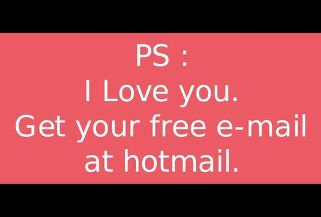 Growth Hacking Hotmail